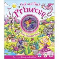 Seek and Find Princess : Find a Charm Book [With Charm Bracelet] Hardcover