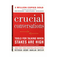 Crucial Conversations: Tools for Talking When Stakes Are High.Second Edition-Used Book