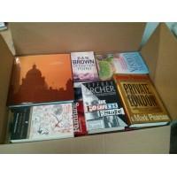Book Lot of 100 Mixed Hardback Books