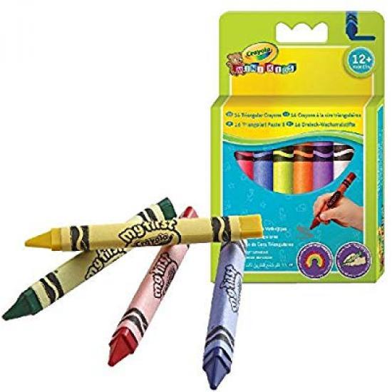 Crayola 16 Triangular Crayons