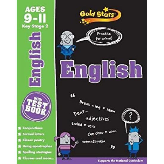 Gold Stars®: KS2 AGE 9-11 English