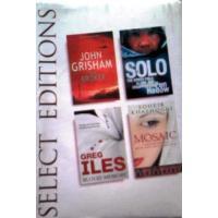 READERS DIGEST SELECT EDITIONS: THE BROKERBy JOHN GRISHAM: SOLO BY PEN HADOW: BLOOD MEMORY GREG ILES: MOSAIC BY SOHEIR KHASHOGGI