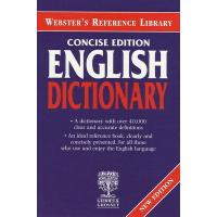 Webster's Reference Library Concise Edition English Dictionary