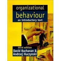 Organizational Behavior: An Introductory Text
